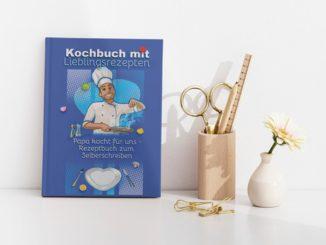 Kochbuch mit Lieblignsrezepten Papa