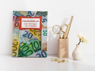 Haushaltsbuch Geldscheine
