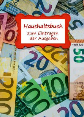 Haushaltsbuch - Geldscheine